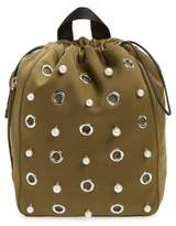 3.1 Phillip Lim Phillip Lim Medium Go-Go Embellished Backpack - Green