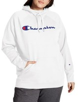 Champion Womens Plus Size Powerblend Graphic Hoodie