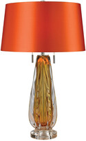Artistic Home & Lighting Modena 26In Free Blown Glass Table Lamp