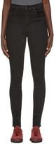 J Brand Black High-rise Carolina Jeans