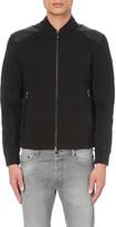 HUGO BOSS Embellished cotton-blend sweatshirt