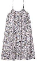 Stella McCartney Thin Strap All Over Giraffe Dress (Toddler/Little Kids/Big Kids) (Multi) Girl's Clothing