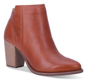 Dingo Women's Call Back Leather Bootie Women's Shoes