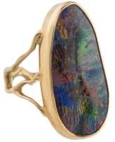 Annette Ferdinandsen 18K Opal Branch Cocktail Ring