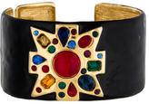 Kenneth Jay Lane Maltese Cross Cuff