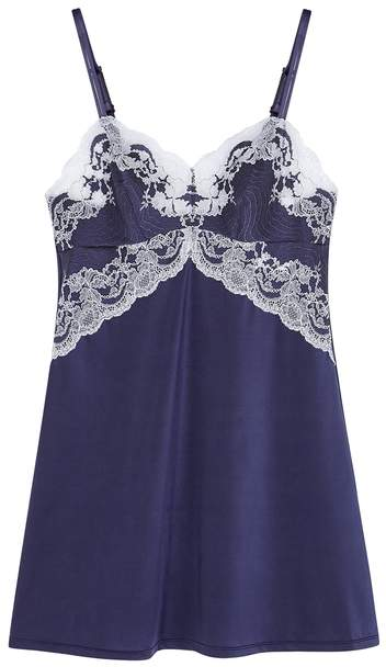 7f032504bba Navy Chemise - ShopStyle UK
