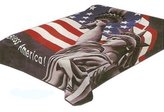 Haus of Blankets Solaron God Bless America Korean Mink Blanket