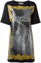 Moschino broken mirror T-shirt dress