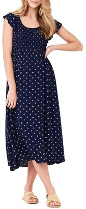 Ripe Bobbie Shirred Dress