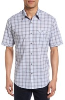 James Campbell Men's Check Sport Shirt