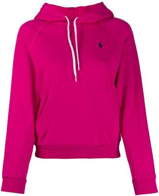 Ralph Lauren Embroidered Logo Relaxed-Fit Hoodie