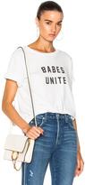 Amo Babes Unite Tee in White.