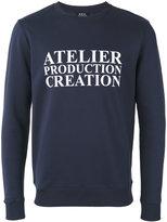 A.P.C. 'atelier' print sweatshirt - men - Cotton - M