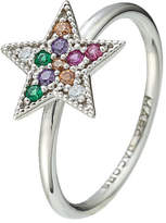 Marc Jacobs Embellished Silver Star Ring
