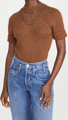 No.21 Round Neck Knitted Sweater