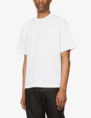 Prada Brand-patch crewneck cotton-jersey T-shirt