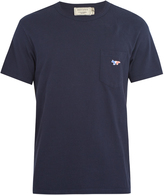 MAISON KITSUNÉ Patch-pocket cotton T-shirt