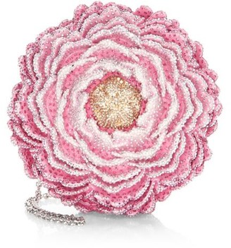 Judith Leiber Couture Peony Crystal Clutch