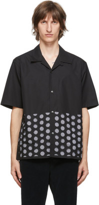 Maison Margiela Black Cotton Poplin Shirt