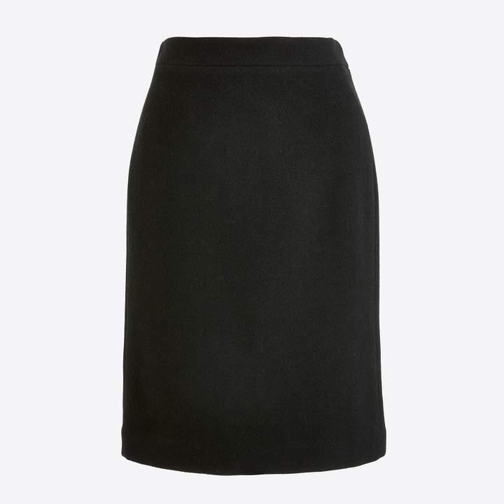 J.Crew Pencil skirt in double-serge wool