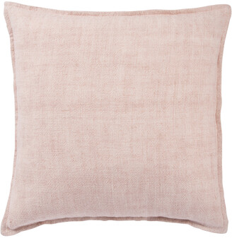 Jaipur Living Blanche Solid Light Pink Throw Pillow