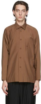 132 5. ISSEY MIYAKE Brown Men 3 Shirt