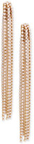 INC International Concepts M. Haskell for Gold-Tone Crystal Linear Drop Earrings, Created for Macy's