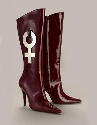 Agent Provocateur Monike Boot Red