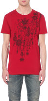 Balmain Medal Print Cotton-jersey T-shirt