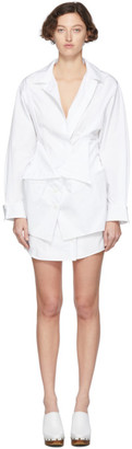 Jacquemus White Le Robe Murano Dress