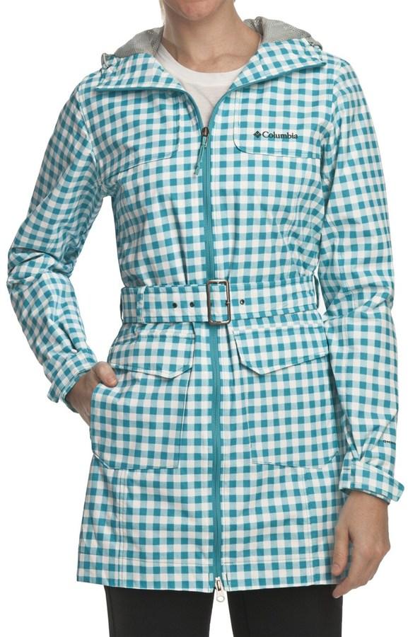 Columbia Bowspirit Long Rain Jacket (For Women)