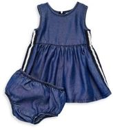 Splendid Baby's Side Taped Dress & Bloomers Set