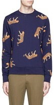 Paul Smith Leopard print sweatshirt