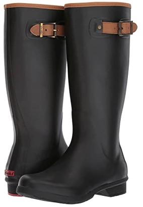 Chooka City Solid Tall Boot (Black) Women's Rain Boots