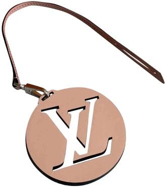 Louis Vuitton Pink Cloth Bag charms