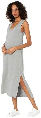 UGG Jadyn Maxi Dress (Grey Heather) Women's Clothing