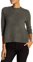 Qi Honey Comb Cashmere Sweater