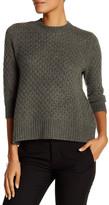 Qi Honey Comb Cashmere Sweater