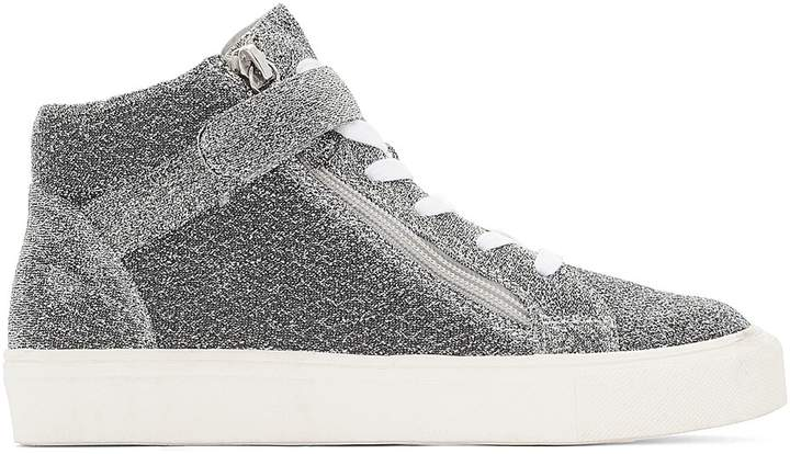 393dfc40fe403 COLLECTIONS Glittery High Top Trainers