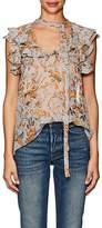 Zimmermann Women's Silk Tieneck Blouse