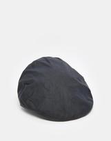 Barbour Wax Flat Cap - Blue