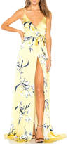 Amanda Uprichard Yellow Floral Maxi