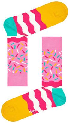 Happy Socks Bday Sprinkles Crew Sock