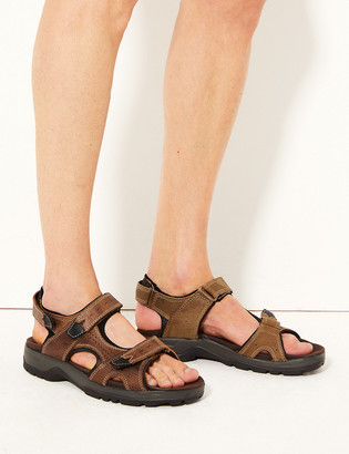 Marks and Spencer Leather Riptape Walking Sandals