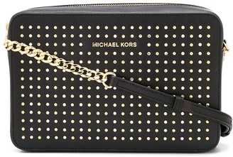 MICHAEL Michael Kors Jet Set studded crossbody bag