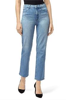 J Brand Jules High Rise Straight Jean