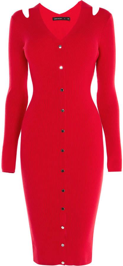 101a0034216 Karen Millen Knitted Dress - ShopStyle UK