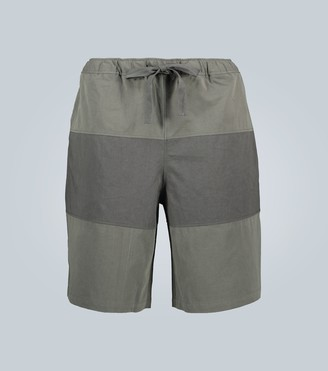 J.W.Anderson Paneled rugby shorts