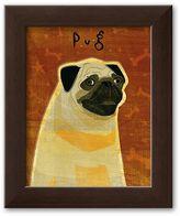 "Art.com Pug"" Framed Art Print by John Golden"