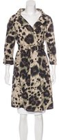 RED Valentino Printed Trench Coat